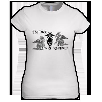 Toxic Babies B&W Women's T-shirt