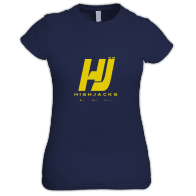 "Highjacks ""HJ"" Logo Yellow Women"