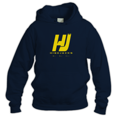 "Highjacks ""HJ"" Logo Yellow"