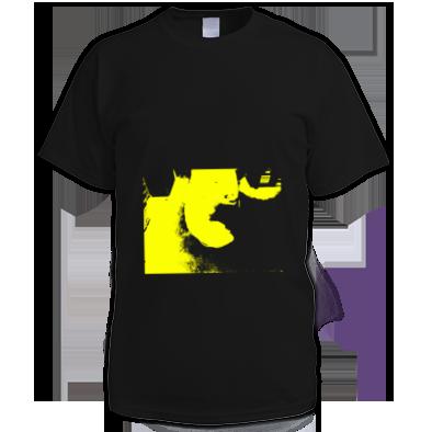 Yellow on Black