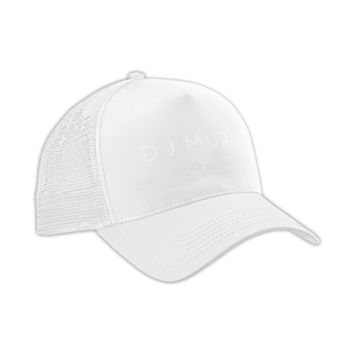 DJ Murci Limited Edition All-White Cap