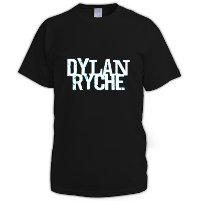 Dylan Ryche Logo - Men's T Shirt - Black