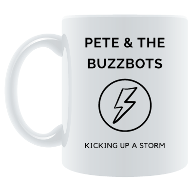 Pete & the Buzzbots Lighting Strike Refresh Mug