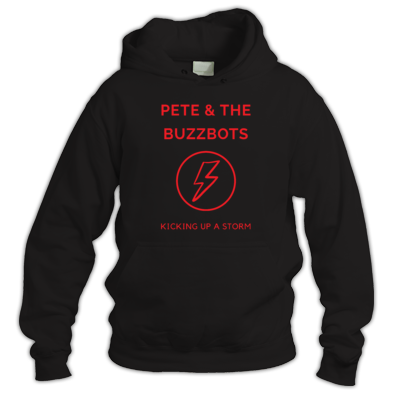 Pete & the Buzzbots Lighting Strike Stay Warm Hoodie