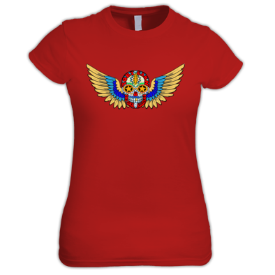 The Funk Has Wings Ladies Tee