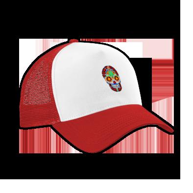 Funk Allstars Skull Trucker Hat