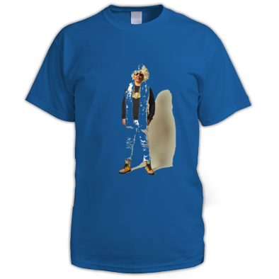 AfroNaut Hippie Men's Tee