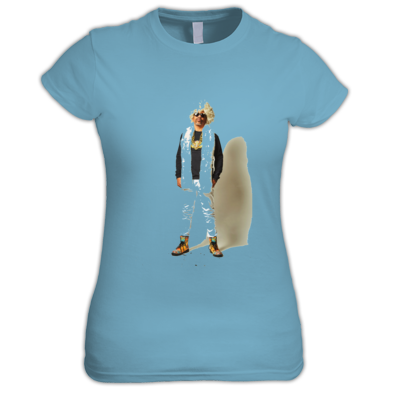 AfroNaut Hippie Ladies Tee