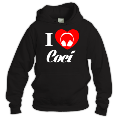 I Heart Coci (White Text)