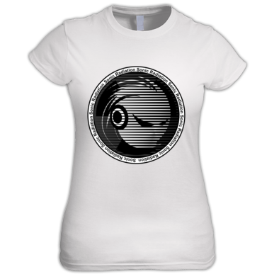 Sonic Radiation Women's Shirt [Mixides Logo]