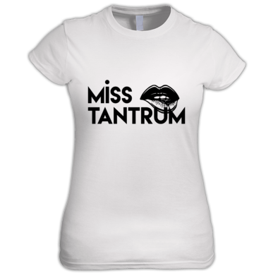 T-Shirt - Female -( Large logo one colour)