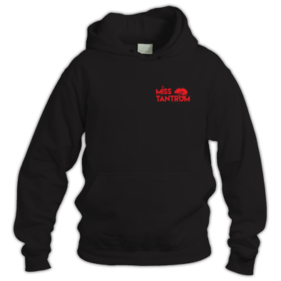 Hoodie - (Logo small one colour)