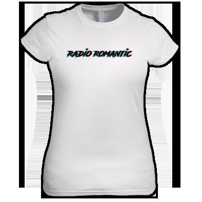 Radio Romantic Logo Ladies T Shirt