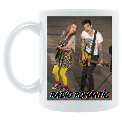 Radio Romantic Joe and Ruth Mug