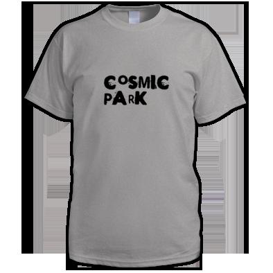 Cosmic Park Text Logo Mens T-Shirt