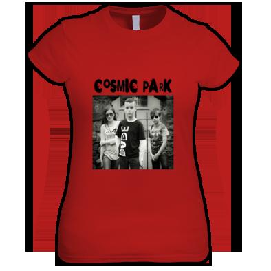 Cosmic Park Band Photo Womens T-Shirt