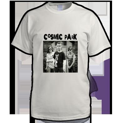 Cosmic Park Band Photo Mens T-Shirt