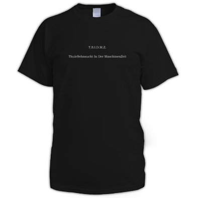 ThuleSehnsucht Men Black T-Shirt