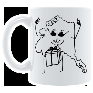 Alaska Christmas Surprise Mug