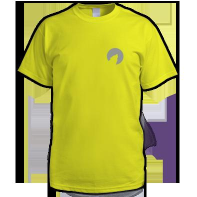 Mid Grey on Yellow