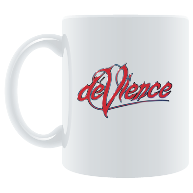 Mug with Red Logo