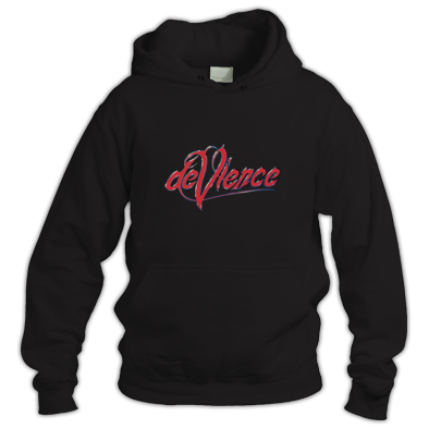 Hoodie with Red Logo