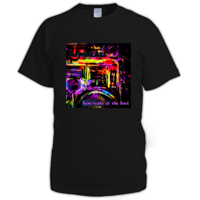 "AFMBeats's ""Sanctuary of the Soul"" Album Art T-Shirt (Men)"