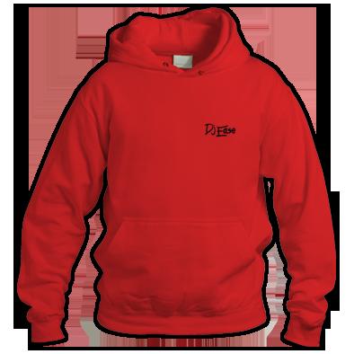 Dj Ease Small Black Logo Hoodie