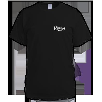 Dj Ease Small White Logo T Shirt