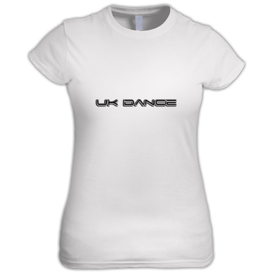 UK Dance ladies tee - triple layer logo
