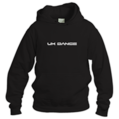 UK Dance unisex hoodie - triple layer logo
