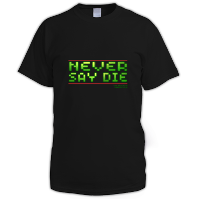 Never Say Die Colour 3d