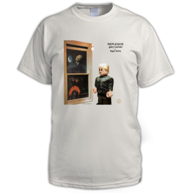 Gary Numan Replegos (Gary in window) Black Print