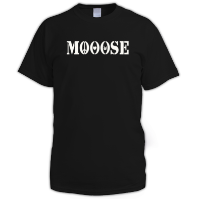 MOOOSE PLF logo T-shirt M