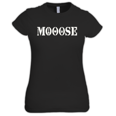 MOOOSE PLF logo T-shirt F