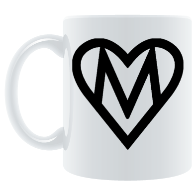 MOOOSE Heart logo Mug