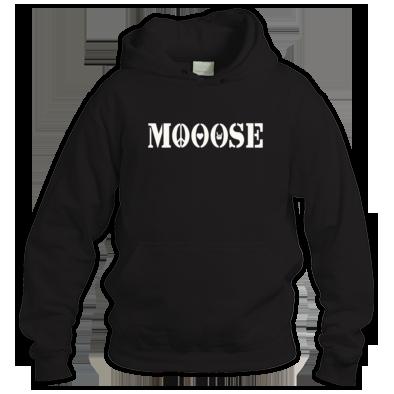 MOOOSE PLF logo Hoodie