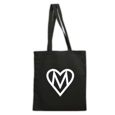 MOOOSE Heart logo Tote Bag