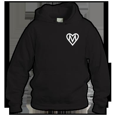 MOOOSE Small Heart logo Hoodie