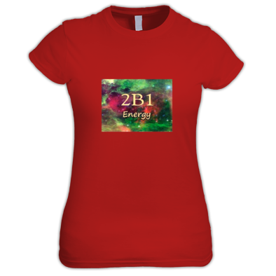 2B1 Energy in Universe Print (Women's shirt)