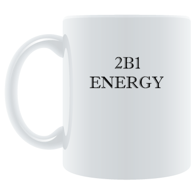 2B1 Energy (All Clear) mugs