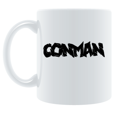 WHITE CONMAN CERAMIC CUP