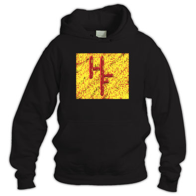 Circus red/yellow hoodie