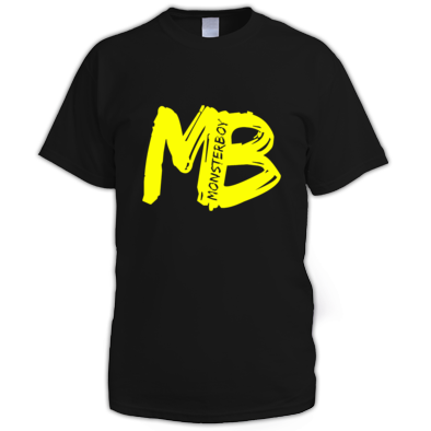 Monsterboy MB Cutout logo Unisex Tee