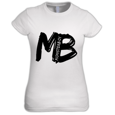 Monsterboy MB Cutout logo Women's Tee
