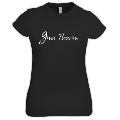 Gina Tharin Logo T-Shirt - Fitted Cut
