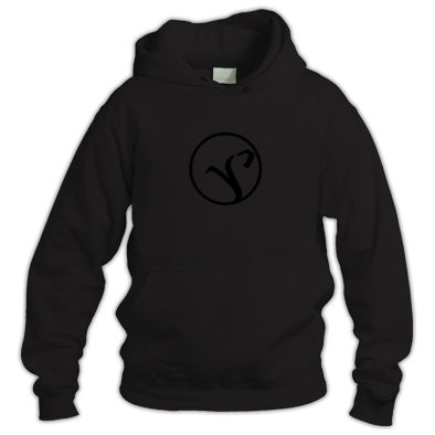 Desolate Sail Black Logo Hoody