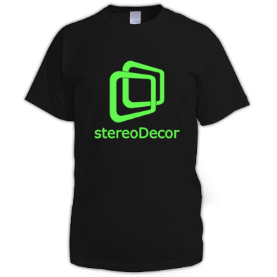stereoDecor Big Logo (Choose Your Colours)