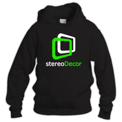 White-Green stereoDecor Logo