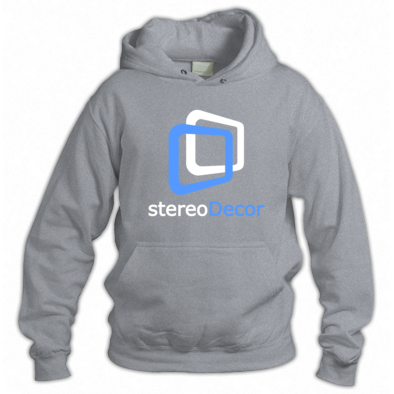 White-LightBlue stereoDecor Logo